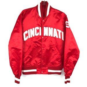 Men's Vintage Starter Cincinnati Reds Jacket